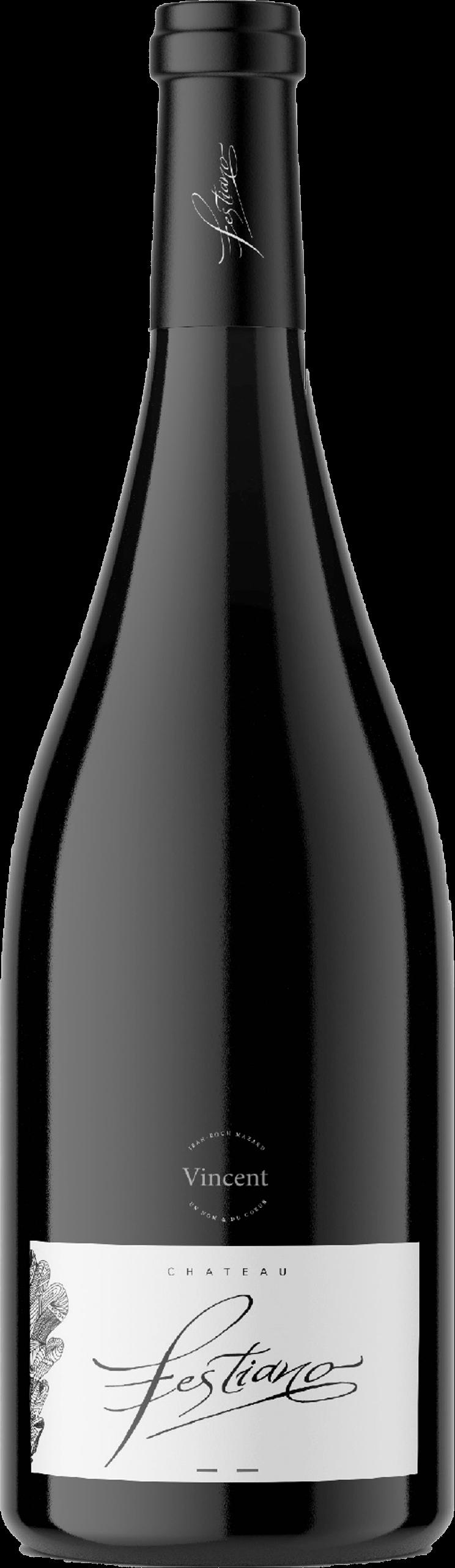 Bouteille de vin Vincent - Les fils